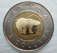 1997 CANADA TOONIE PROOF LIKE TWO DOLLAR COIN