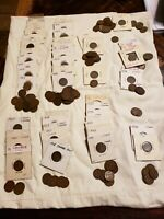 CANADA RARE SMALL CENTS COLLECTION OF 175  COINS 1920   1942