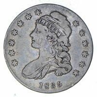 1835 CAPPED BUST HALF DOLLAR - CIRCULATED 8935