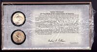 U.S. MINT 2012 P&D GROVER CLEVELAND $1 DOLLAR COIN COVER LIMITED EDITION SEALED