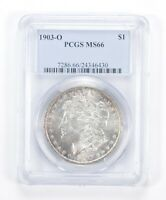 MINT STATE 66 1903-O MORGAN SILVER DOLLAR - GRADED PCGS 0976