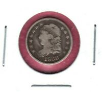 1833 CAPPED BUST HALF DIME   DETAIL AND LOOKING COIN HERE  C1586
