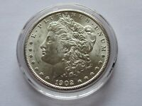 1902 O MORGAN SILVER DOLLAR, BRILLIANT UNCIRCULATED, MS, ESTATE COIN