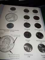 FIFTY STATE COMMEMORATIVE 50 QUARTERS 1999 2008 COMPLETE SET