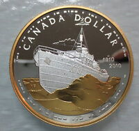2010 CANADA 100TH ANNIVERSARY OF CANADIAN NAVY PROOF SILVER