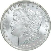 1904 O MORGAN SILVER DOLLAR BU US MINT COIN SEE PHOTOS B248