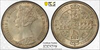 1885 PCGS MS 62 GOTHIC FLORIN