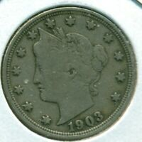 1903 LIBERTY HEAD NICKEL, FINE, GREAT PRICE