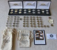 UNCIRCULATED STATE QUARTERS 1999 2003 2004 2007 WITH DISPLAY