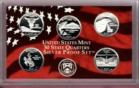 2007 S SILVER STATE QUARTERS PROOF SET MIGHT SELL TO 1ST BID