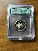 2000 S PR69 DCAM US WASHINGTON STATEHOOD SILVER QUARTER   SO