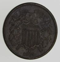 1865 TWO-CENT PIECE - CIRCULATED 7776