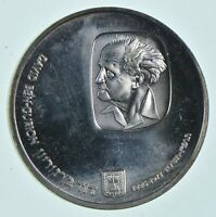 SILVER   WORLD COIN   1974 ISRAEL 25 LIROT   WORLD SILVER CO