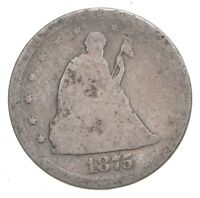1875 S SEATED LIBERTY 20 CENT PIECE   CHARLES COIN COLLECTIO
