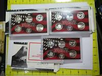 50 STATE QUARTERS UNITED STATES MINT SILVER PROOF SETS 2005
