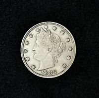 1883 LIBERTY HEAD V NICKELNO CENTSAUALMOST UNCIRCULATEDCOMBINED SHIPPING