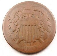 1864 TWO CENT 2 CENT  GOOD  120
