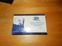2000 UNITED STATES MINT 50 STATE QUARTERS PROOF SET MINT CON