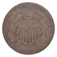 1866 TWO CENT PIECE   CHARLES COIN COLLECTION  668