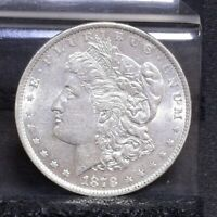 1878 MORGAN DOLLAR - 7TF REV 79 - AU 24491