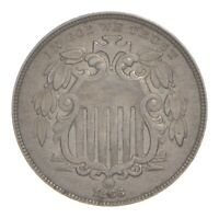 1866 SHIELD NICKEL 4778