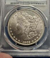 1903-0 MORGAN SILVER DOLLAR PCGS MINT STATE 66 NEW ORLEANS  KEY BETTER DATE