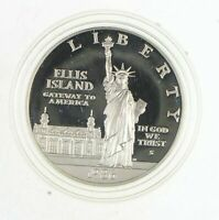 PROOF 1986 S STATUE OF LIBERTY CENTENNIAL   COMMEMORATIVE 90  SILVER DOLLAR