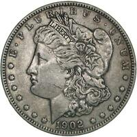 1902 MORGAN SILVER DOLLAR  FINE VF SEE PHOTOS B663