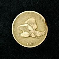 1857 FLYING EAGLE CENTG1BETTER DATEMINTED 3 YEARS ONLYCOMBINED SHIPPING