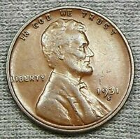 1931 S LINCOLN WHEAT CENT