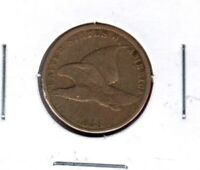1858 S.L. FLYING EAGLE CENT CIRCULATED JC222