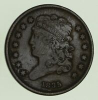 1835 CLASSIC HEAD HALF CENT - CIRCULATED 8686