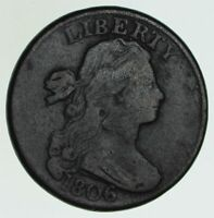 1806 DRAPED BUST LARGE CENT - CIRCULATED 6040