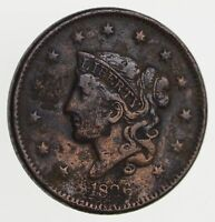 1836 YOUNG HEAD LARGE CENT - CIRCULATED 7790