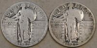 1927-PD STANDING LIBERTY QUARTERS CIRCULATED AS PICTURED