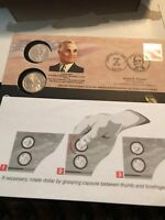 2015 P-D TRUMAN PRESIDENTIAL FIRST DAY DOLLAR COIN COVER SET