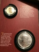 2015 HARRY S TRUMAN COIN & CHRONICLE SET $1 REVERSE PROOF DOLLAR & SILVER MEDAL