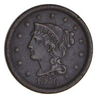 1856 BRAIDED HAIR LARGE CENT - NEAR UNCIRCULATED 9731