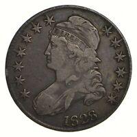 1828 CAPPED BUST HALF DOLLAR - CIRCULATED 2163