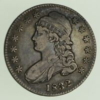 1832 CAPPED BUST HALF DOLLAR - CIRCULATED 0435