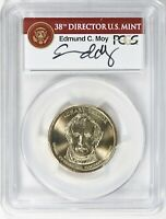 2009 PRESIDENTIAL $1 DOLLAR ZACHARY TAYLOR MISSING EDGE LETTERS PCGS MINT STATE 68