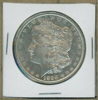1898 P MORGAN DOLLAR $1 US MINT GEM PQ SILVER COIN 1898-P BU MS