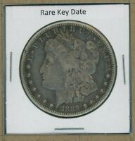1889 S MORGAN DOLLAR $1 US MINT  KEY DATE SILVER COIN 1889-S