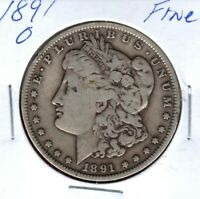 1891-O SILVER MORGAN DOLLAR GRADES  GOOD SHIPS FREE  C2253