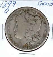 1899-O SILVER MORGAN DOLLAR GRADES GOOD SHIPS FREE  C2254