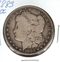 1883-CC MORGAN SILVER DOLLAR READ PLEASE C1929
