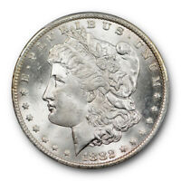 1882 CC $1 MORGAN DOLLAR PCGS MINT STATE 64 UNCIRCULATED CARSON CITY PLUS GRADE