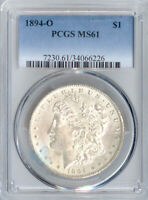 1894-O MORGAN DOLLAR MINT STATE 61 PCGS PA34066226