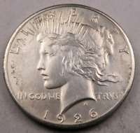 1926-P PEACE SILVER DOLLAR  CHOICE BU  90 SILVER 8919