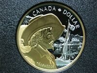 2008 400TH ANNIVERSARY OF QUEBEC CITY CANADIAN GOLD PLATED S